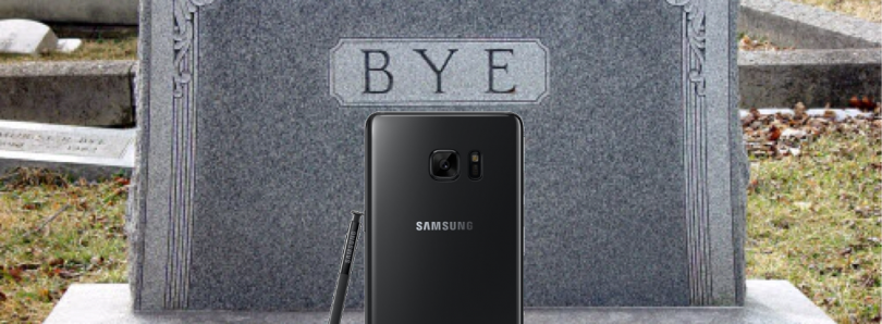 Samsung to Permanently Discontinue Production and Sales of Galaxy Note 7