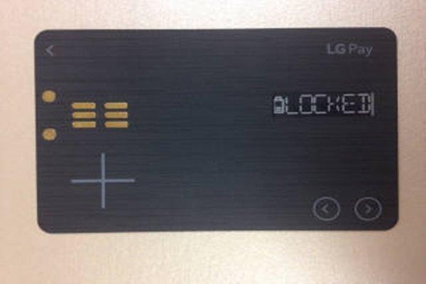 LG's White Card that it was developing for LG Pay