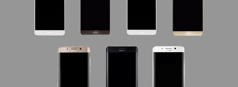 Renders of Flat and Curved Variants of the Huawei Mate 9 Leaked