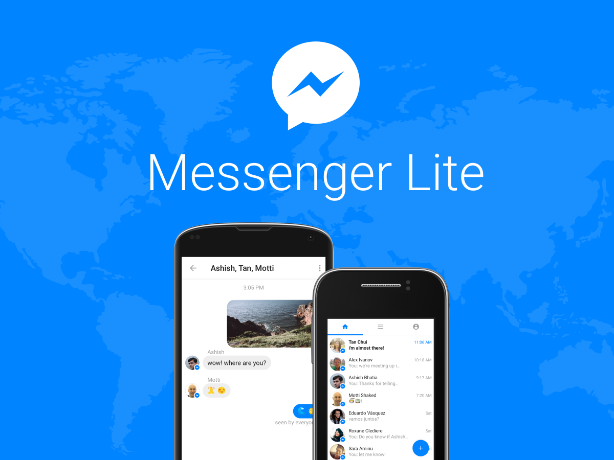 Facebook Announces Messenger Lite For Older Devices and