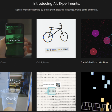 Google Launches A.I. Experiments to Showcase Machine Learning Projects