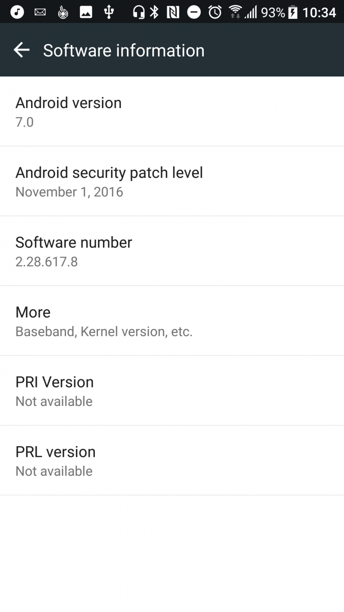 A Look at the Official Android 7 0 Nougat Update for the HTC 10