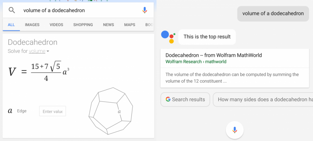 volumeofdodecahedron