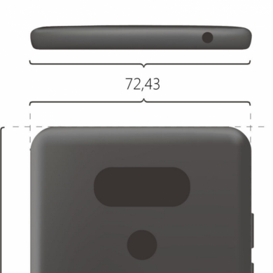 Alleged LG G6 Render Shows a Similar Design to the LG G5