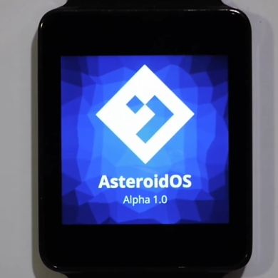 AsteroidOS is an Open Source OS for Smartwatches