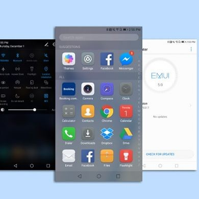 Honor 8 EMUI 4.1 VS 5.0