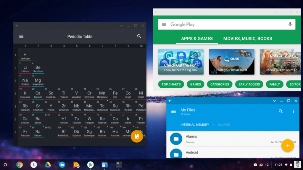 Chromebook Spotted with Android 7 1 1 Nougat Apps and Resizable