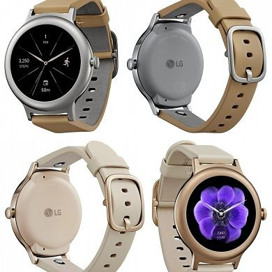 New Leak Shows the LG Watch Style In Silver and Rose Gold, may Start at $249
