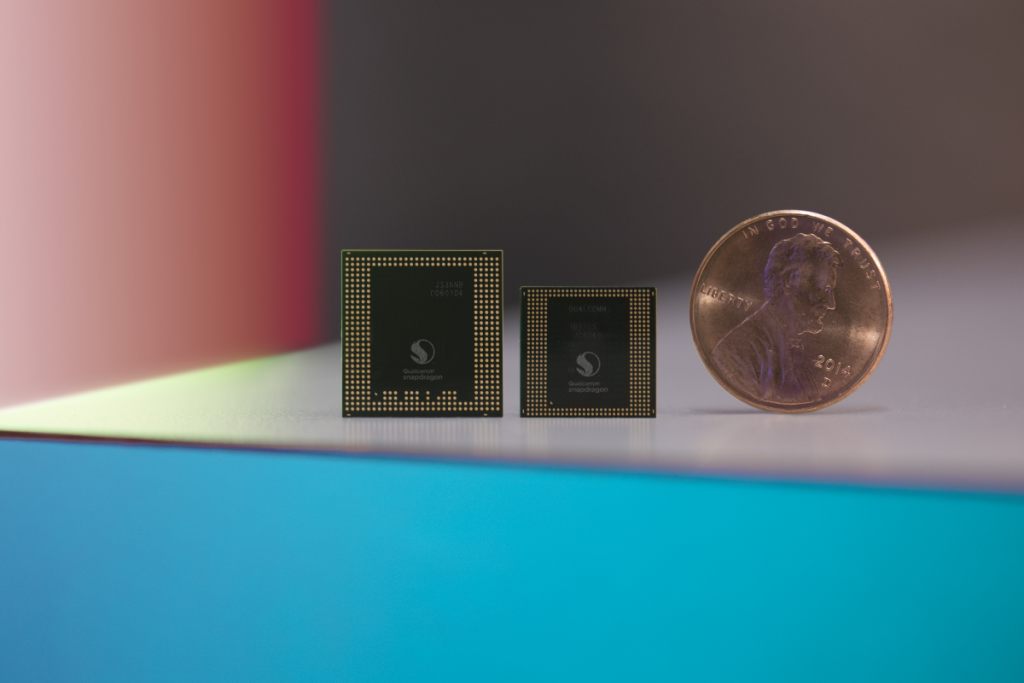 Snapdragon 820, Snapdragon 835 and a penny