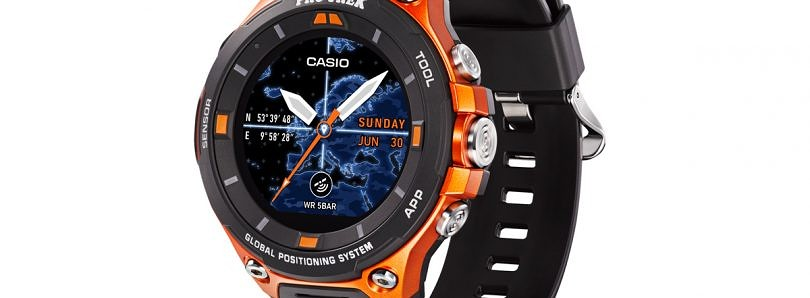 Casio's WSD-F20 Rugged Smartwatch will be the First Android Wear 2.0 Smartwatch