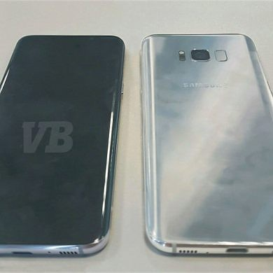 First Live Photo of the Galaxy S8 Leaks: Two Models With 5.8″ and 6.2″ Screens to Launch on March 29th