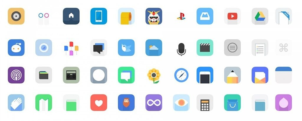 Icons on Android