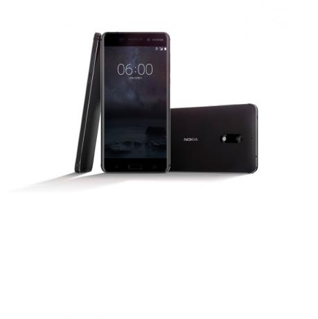 A new Nokia 6 smartphone is seen in this handout image released by HMD to Reuters on January 7, 2017. HMD/Handout via Reuters