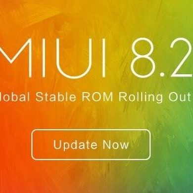 Xiaomi Starts Rolling Out MIUI 8.2 Global Stable ROM For Supported Devices