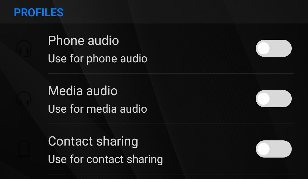 How to stop music from automatically playing on bluetooth android