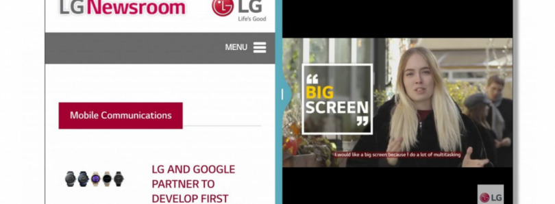 LG Talks About How the G6 Will Take Advantage of the 18:9 Display
