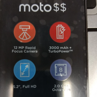 Rumored Photo and Specifications of the Moto G5 Plus have been Unveiled