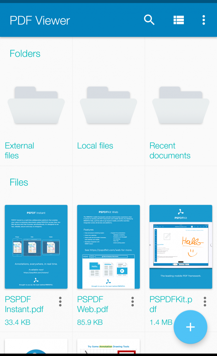 PSPDFKit, the PDF Framework used in Dropbox and Evernote, is