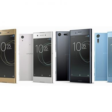 Sony Launches the Xperia XZ Premium, XZs, XA1 and XA1 Ultra at MWC 2017