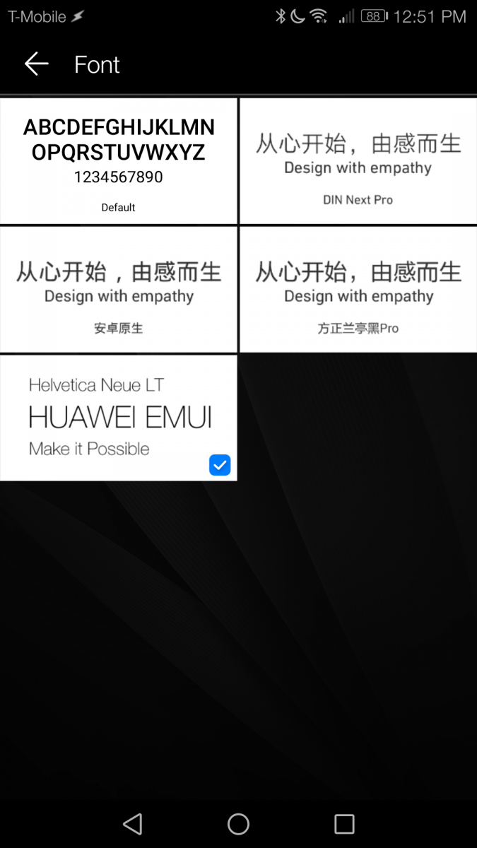 How to Change the Font Style on EMUI 5 0 [No Root]