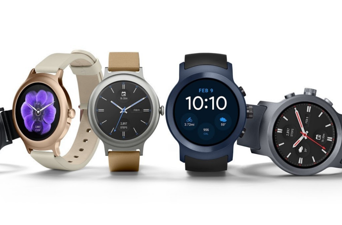 Android Wear lg watch style and watch sport released with android wear 2.0