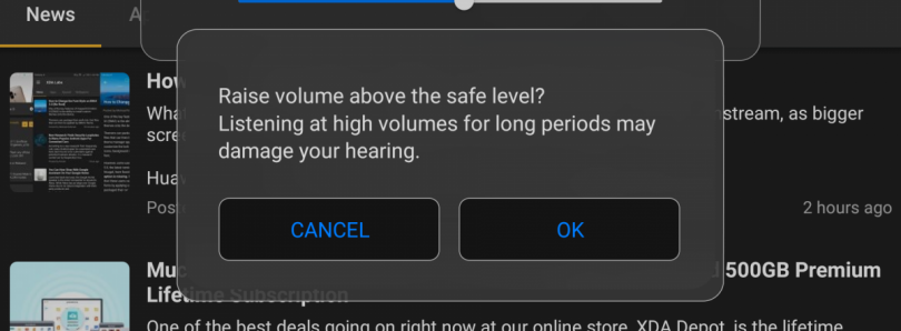 How to Automatically Disable the High Volume Warning without