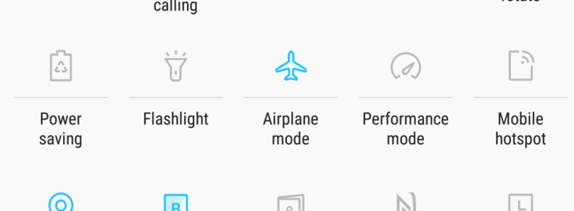 How to Customize the Size of the Quick Settings Button Layout on Samsung Galaxy Devices