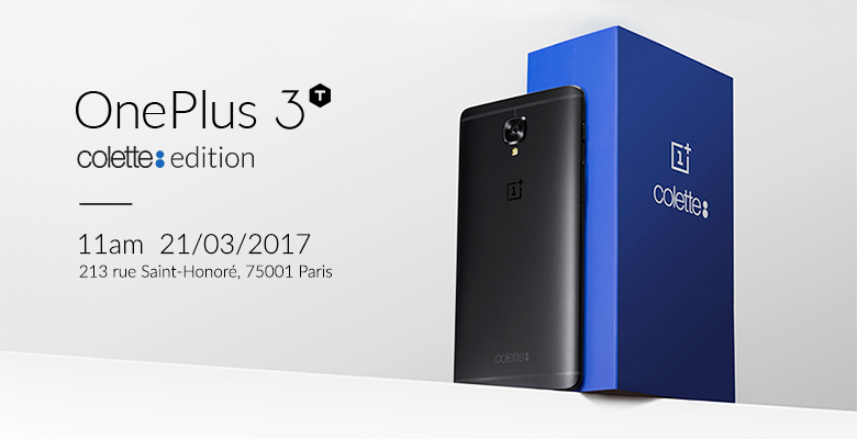 3c65b0b80c OnePlus Introduces the Black OnePlus 3T Colette Edition