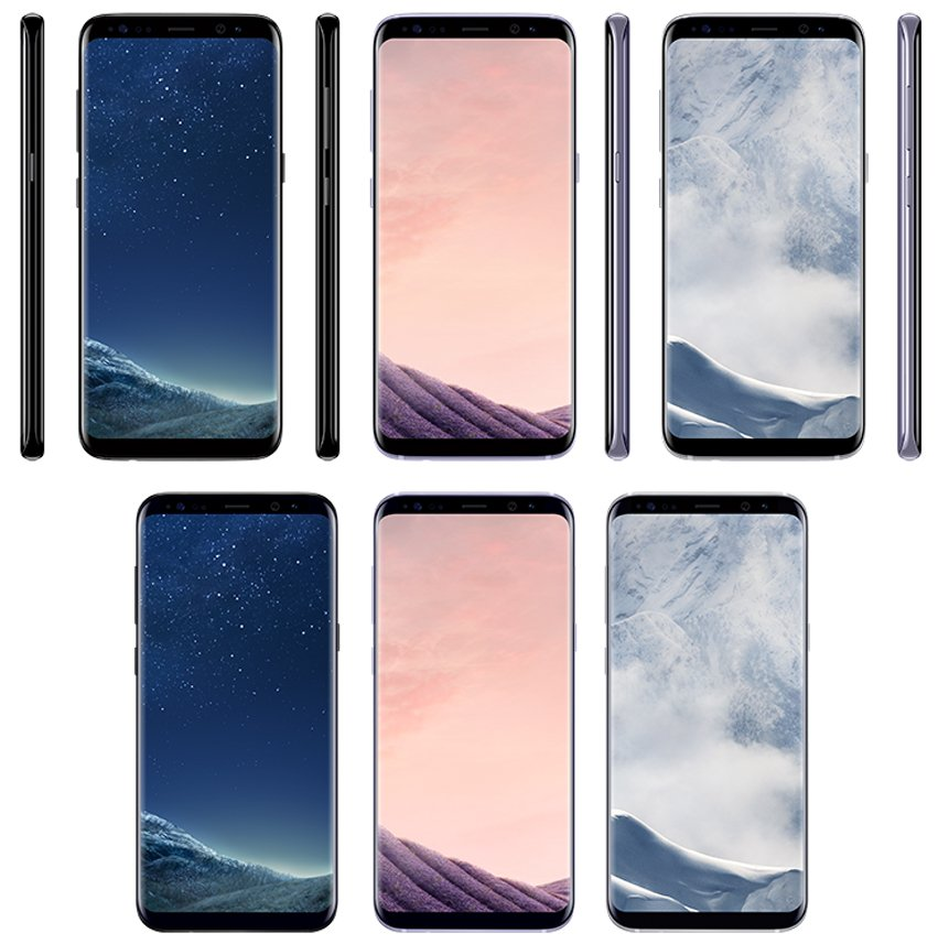 Samsung Galaxy S8 and S8 Plus Pricing Info and Color