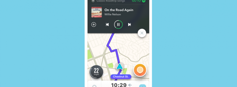Waze and Spotify Announce Integration to Allow Seamless Music Playback While Navigating
