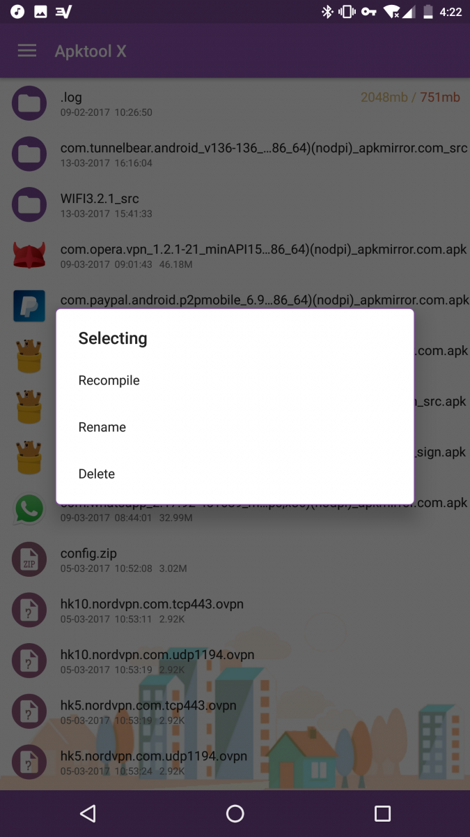 Decompile and Modify APKs on the go with APKTool for Android