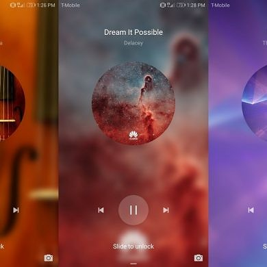 How to Add Third-Party Music Apps to EMUI's Music Lock Screen [Root]