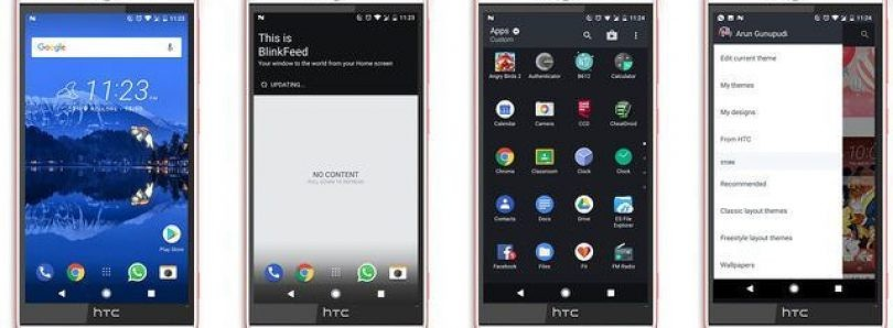 Get Sense Home for the HTC Desire Eye on Android Nougat ROMs