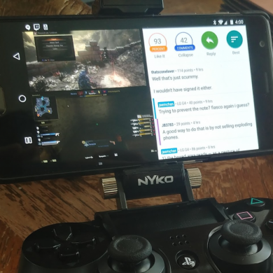 Android Pie adds controller mapping for the Sony PlayStation 4's DualShock 4