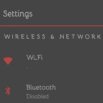 The DNA Dark theme for Substratum