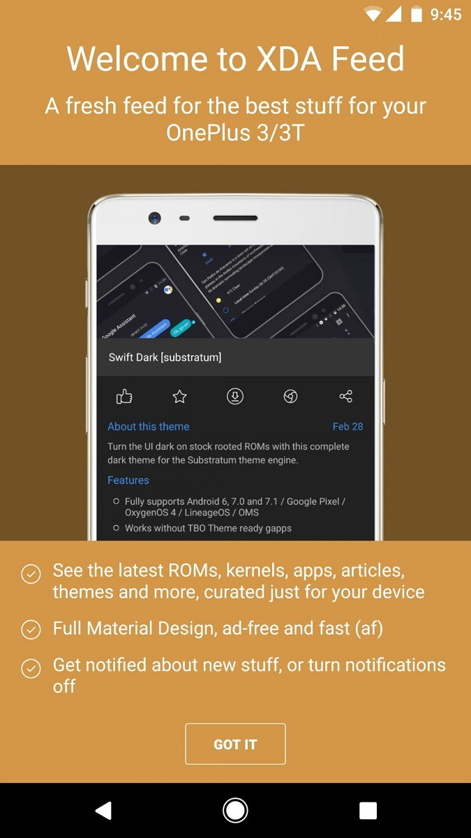 Check out our Newest App: XDA Feed, Amazing Content