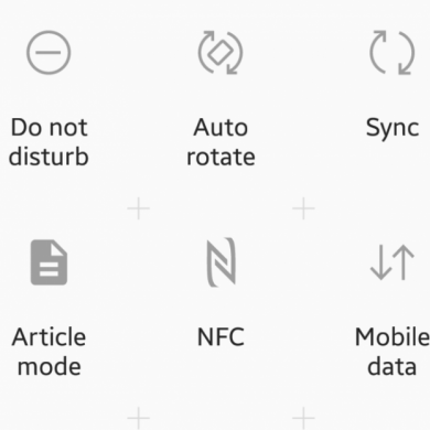 How to Restore the Mobile Data and Mobile Hotspot Quick Settings Toggles on Samsung Galaxy Devices