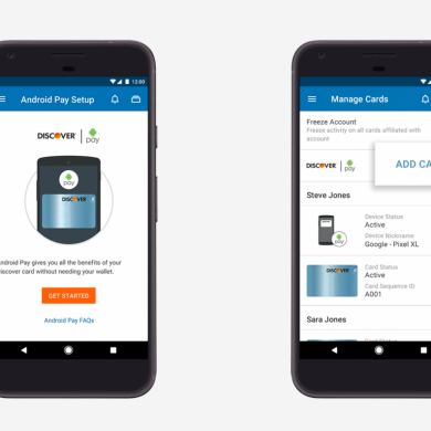 Select Mobile Banking Apps Make it Easier to Use Your Cards with Android Pay