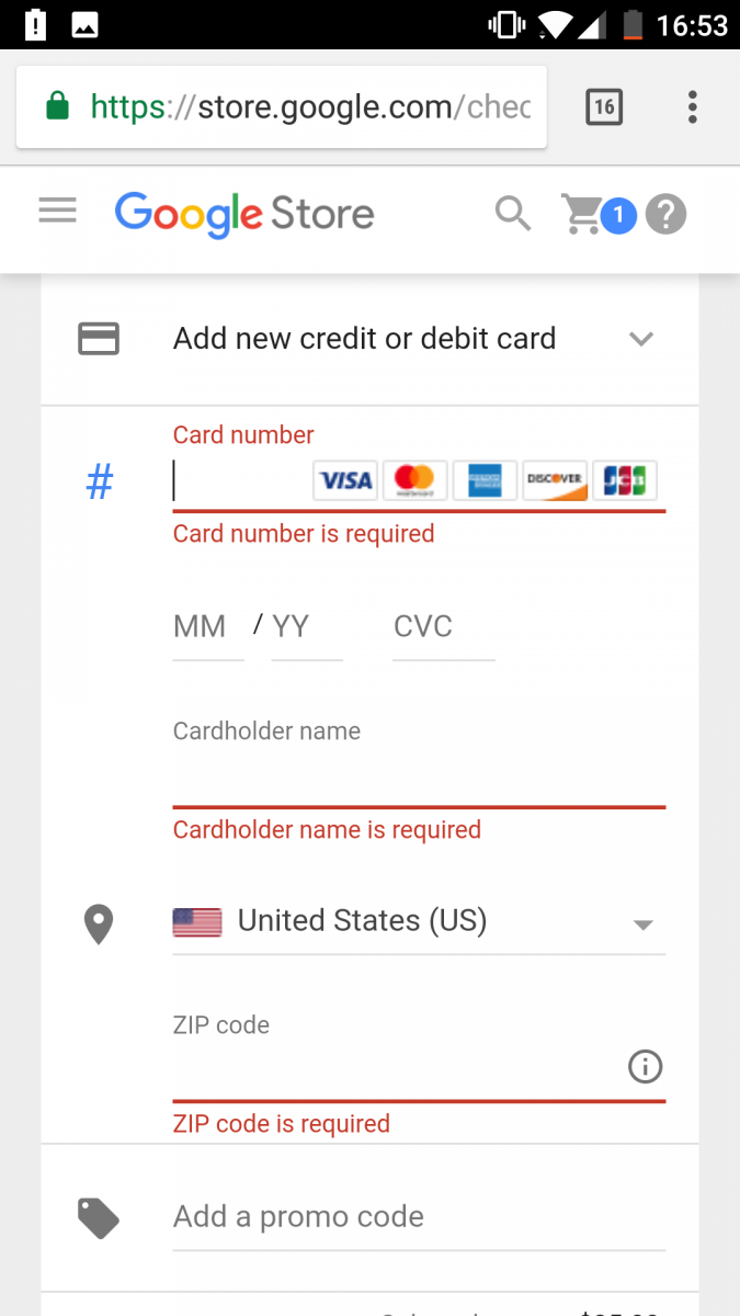 Google Officially Adopts the Payment Request API, Allowing you to