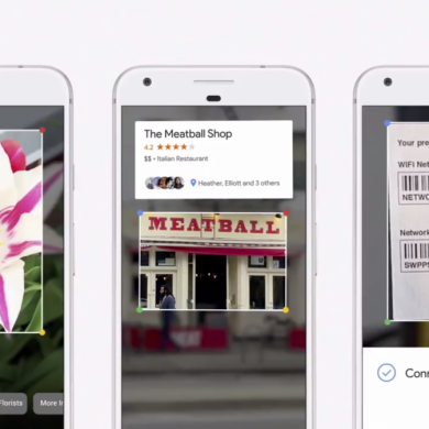 Google Lens Introduced at I/O, Allows you to Connect to a WiFi Network by Pointing your Camera