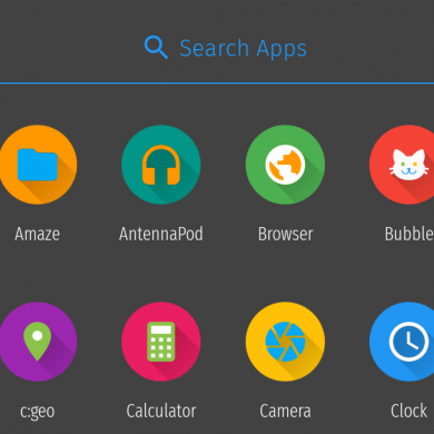 Fork of Slimlauncher Adds Dark Theme, Hide Apps Feature, and More