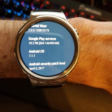 Android Wear 2.0 Arrives for The Original Huawei Watch