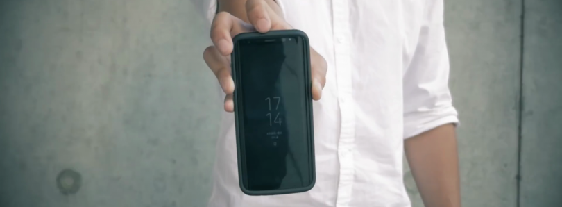 Galaxy S8 CrashGuard Drop Test Video [Hint: Phone is Unscathed]