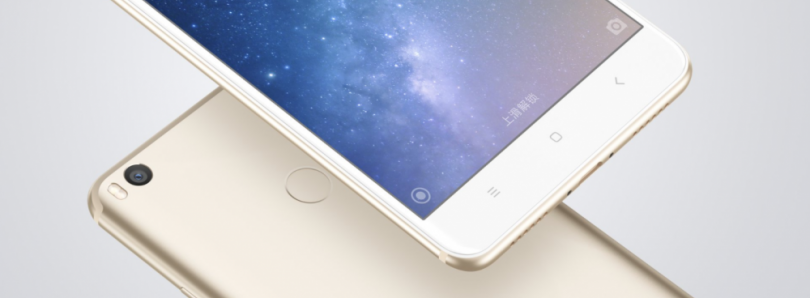 Xiaomi Announces Mi Max 2, Huge, Affordable and Long Lasting (5,300mAh)