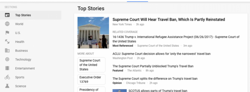 Google News Redesign Focuses on UX, Facts and User Control