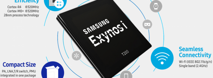 Samsung is Mass Producing the Exynos i T200, its First Exynos-branded IoT Chip