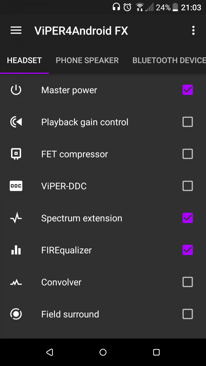 ViPER4Android Materialized Brings the New UI to The Popular App