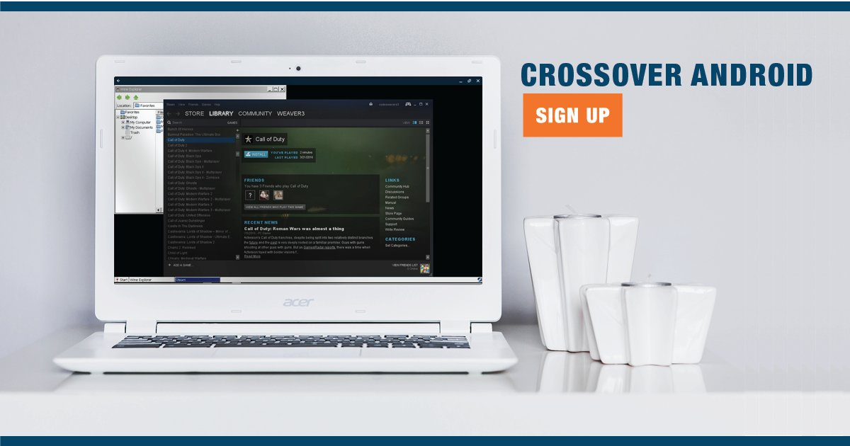 Latest Alpha Build of CrossOver Android Released With