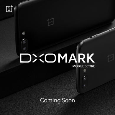 """DxOMark Mobile Score for the OnePlus 5 is """"Coming Soon"""""""