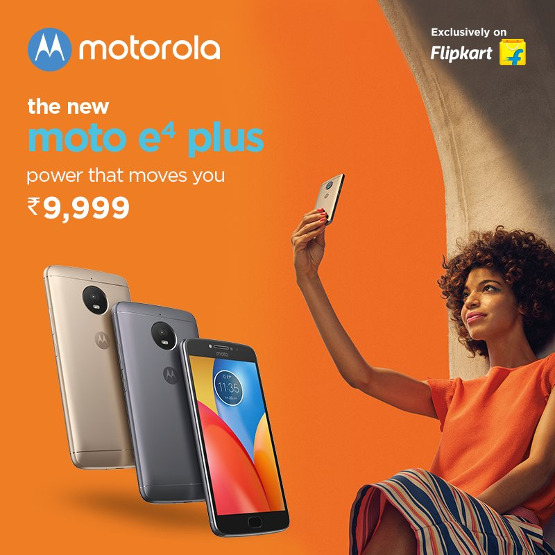 Moto E4 Plus With 5,000 mAh Battery and Android 7 1 1